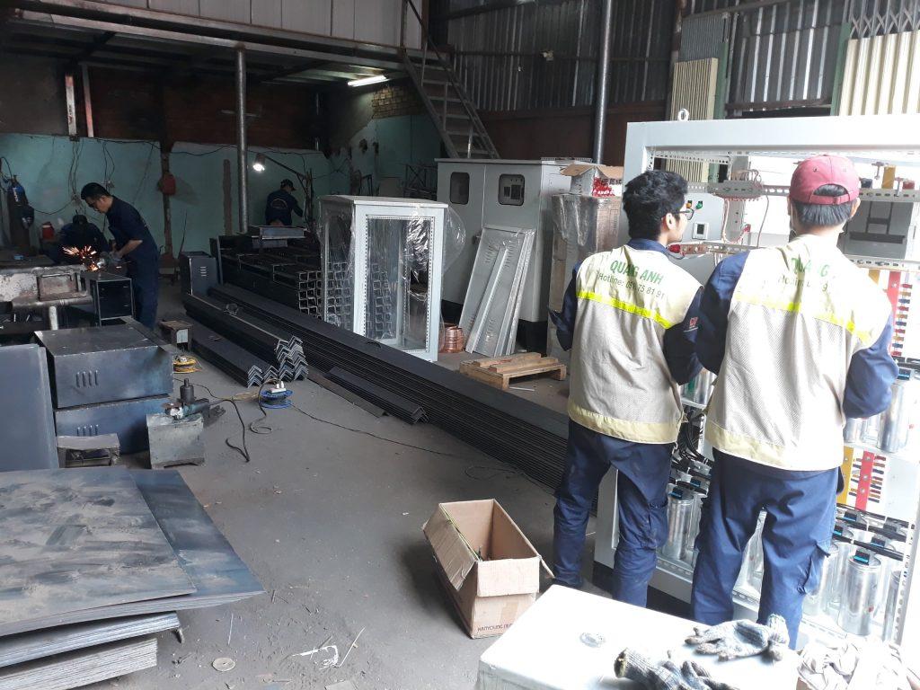 xưởng sản xuất tủ điện công nghiệp