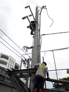 Single Vietnam Pole Mounted Transformer