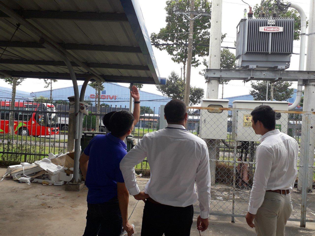Vietnam indoor substation
