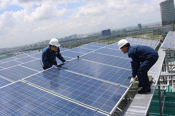 điện mặt trời mái nhà
